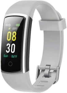 Yamay - SW336 Fitness Tracker Bluetooth Multi Wasserdicht IP68 Android iOS Weiss