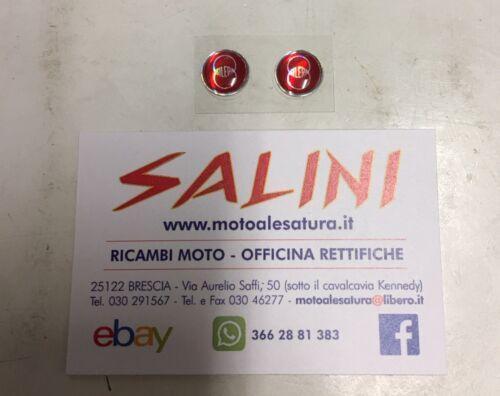 Adesivo logo Moto Gilera 3D Resinato 12mm
