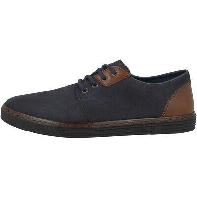 SchöN Rieker Jaipur-ambor Schuhe Men Herren Antistress Sneaker Halbschuh Navy B4942-14 üBerlegene Materialien