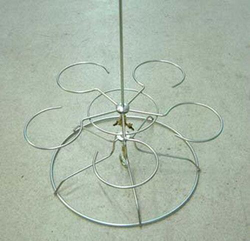 Rankake Olla Colgador japonés Neofinetia falcata Vanda 5 plástico furanos Orquídea