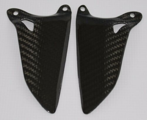 Ducati 1098 1198 848 Heel Guards Carbon Fiber