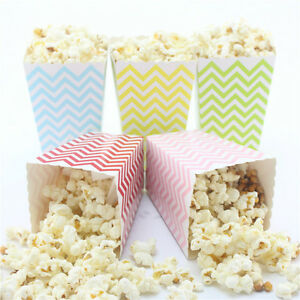 36pcs-Popcorn-Snack-Boxes-Buckets-Bags-Party-Food-Retro-Hollywood-Movie-Treat