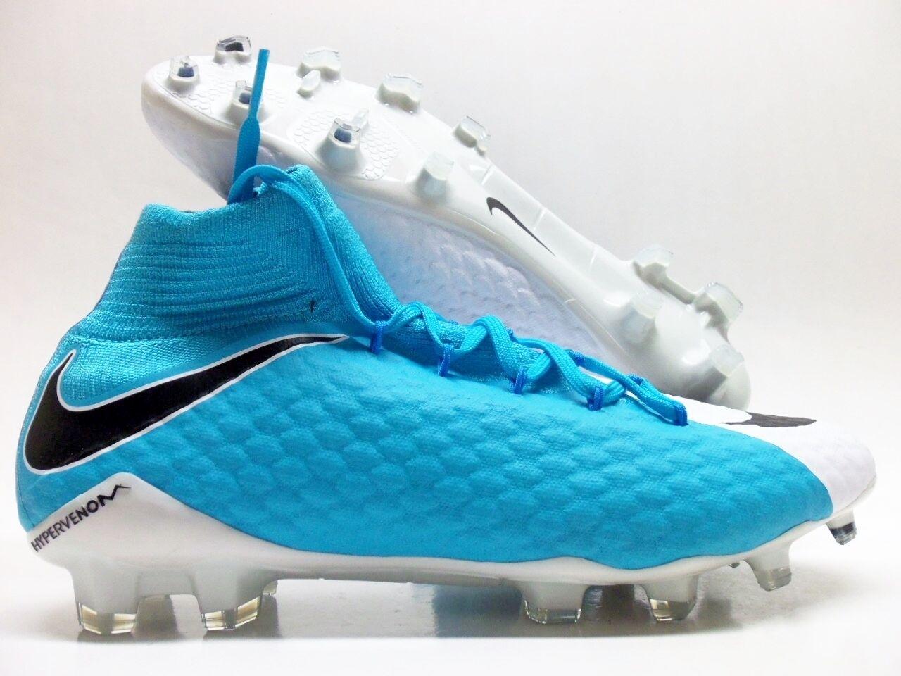 Nike Blu Hypervenom Phatal Iii Fg Calcio Galloccia Bianco / Blu Nike Sz Uomini 8,5 878640-104] 238c50