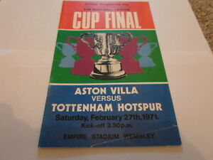 Aston-Villa-v-Tottenham-Hotspur-1971-League-Cup-Final-Programme