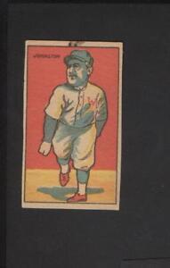 Details About 1916 Big Head Baseball Strip Card Walter Johnson Wajo Washington Senators Nice