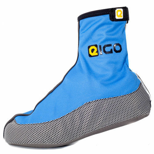 EIGO WINDSTER OVERSHOES FOR COMMUTER CYCLING AND TOURING OVERSHOES BLUE