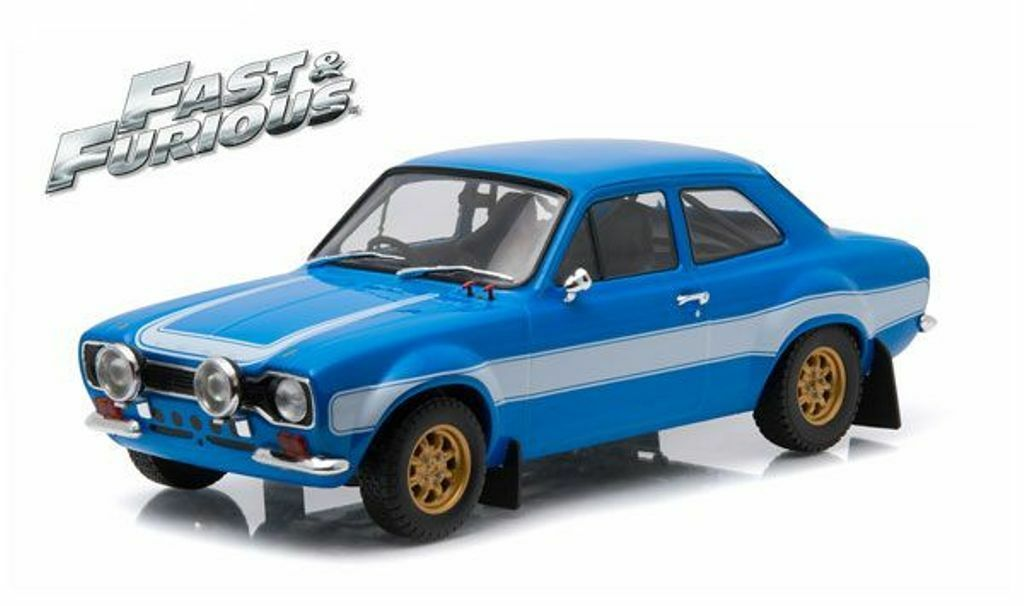 Verdelight 19038 FORD FORD FORD ESCORT RS2000 1974 modello auto Fast & Furious 6 2013 1:18th 28fd84