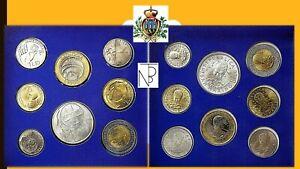 San Marino (l'uomo Verso Il Iii Millennio) Serie Divisionale 1998 Calcul Minutieux Et BudgéTisation Stricte