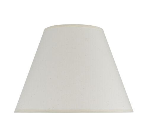 "Aspen Creative 32030 Hardback Empire Spider Lamp Shade Ivory 6/""x12/""x9/"""