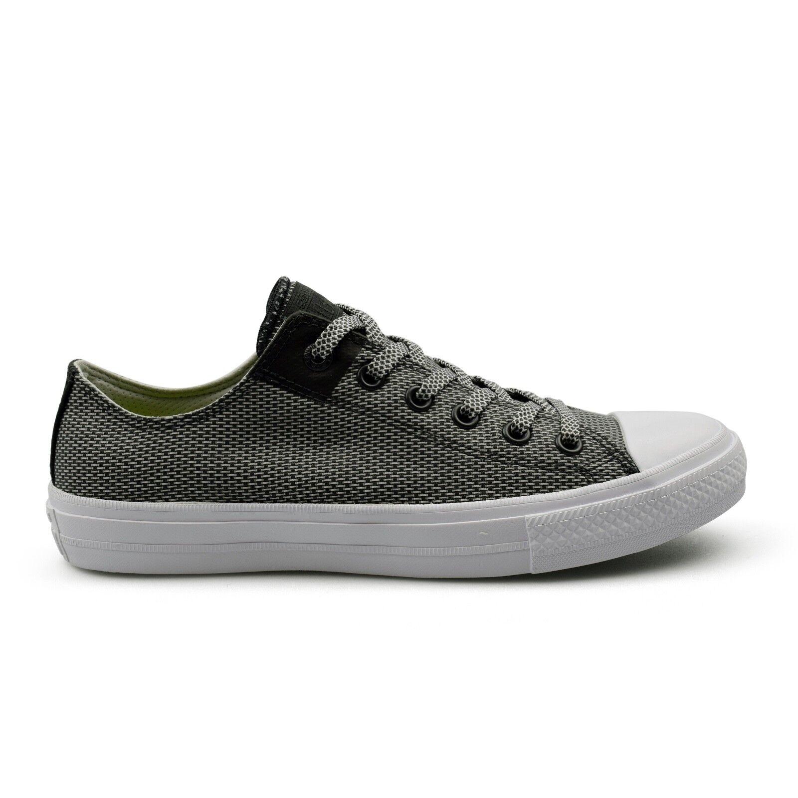 Converse Ctas Chuck Taylor All Star II BASKETWEAVE Fusibile grigio Sneaker Uomo vendita Scarpe classiche da uomo