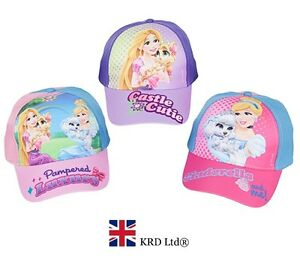 e34a3a3e7f3 Image is loading Disney-Princess-PALACE-PETS-BASEBALL-CAP-Summer-Christmas-