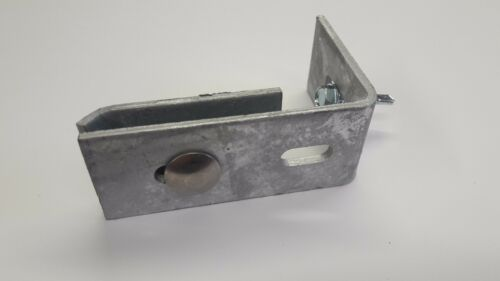 Komplettes Montageset 6 x Wandanschlusswinkel Doppelstabmattenzaun verzinkt
