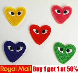 Red-Heart-Eyes-Love-Iron-On-Patch-Sew-On-Badge-Applique