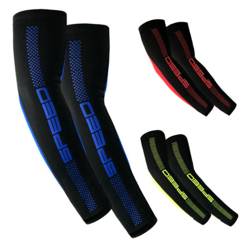 1 Pair Cooling Arm Sleeves Cover UV Sun Protection Outdoor Sports Unisex DEN
