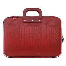 "Bombata - Red Cocco 15.6"" Laptop Case/Bag with Shoulder Strap"
