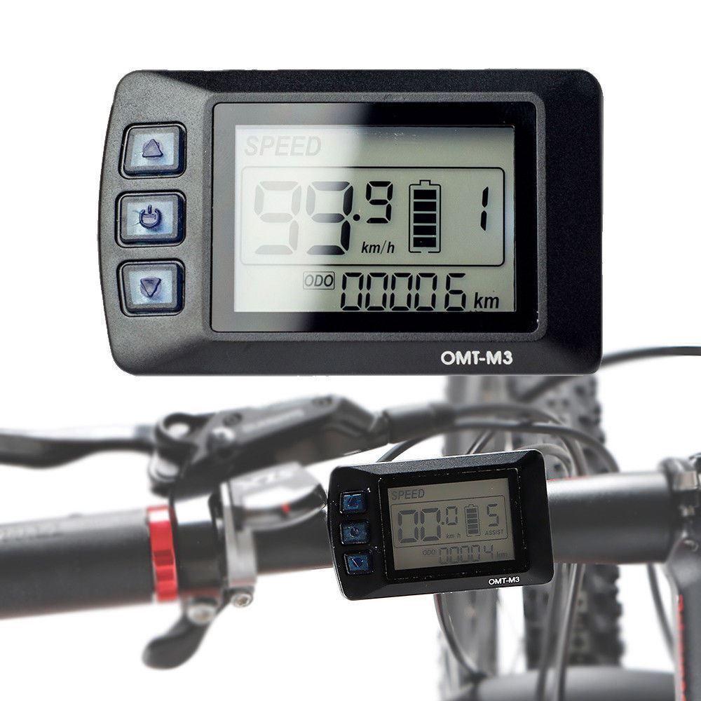 E BIKE Control Panel LCD Bike 36V Electric Bike LCD Display Electric Bicycle