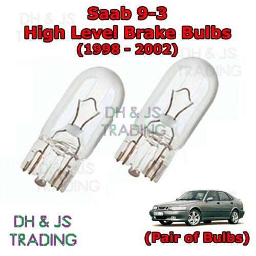 Saab 9-3 High Level Brake Light Bulbs High Brake Lights Bulb 93 MK1 98-02