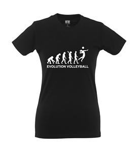 Evolution Volleyball I Fun I Lustig I Sprüche I Girlie Shirt
