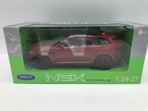 Jaguar F-pace 2016-metálico-rojo 1:24 Welly />/> New /</<