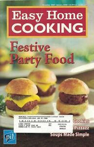 Easy-Home-Cooking-FESTIVE-PARTY-FOOD-Dec-2007-Cookbook