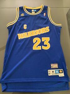 Details about Vintage Rare Adidas Golden State Warriors Mitch Richmond Hardwood Classic Jersey