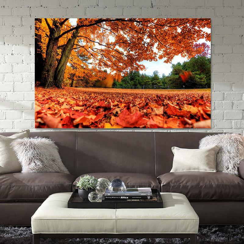 3D Herbstbltter 623 Fototapeten Wandbild BildTapete Familie AJSTORE DE