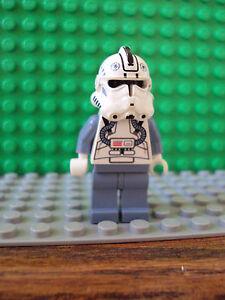 Lego Minifig Star Wars ~ Clone Pilot ~ Faceless Original #lkibv