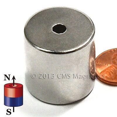 "Neodymium Rings N42 1""ODx.1875""IDx1""H NdFeB Rare Earth Magntes Lot 5"
