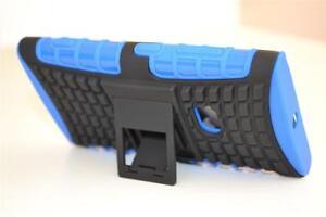 Blue-Strong-Heavy-Duty-Nokia-Lumia-920-Tradesman-TPU-Hard-Case-Cover-Stand