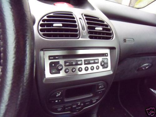 PLAQUE LA RADIO PEUGEOT 206 206CC CC RC SW QK TURBO !