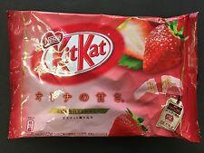 Japanese Nestle Kit Kat Strawberry Chocolates 12 Mini Bar KitKat MADE IN JAPAN