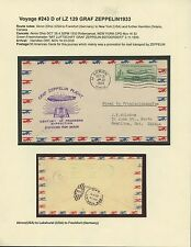 #C18 ON ZEPPELIN FLIGHT COVER FROM AKRON, OH TO CANADA BS4364