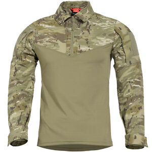 Men Army Tactical T Shirt Swat Soldiers Military Combat T-shirt Long Sleeve Camouflage Shirts Paintball T Shirts High Standard In Quality And Hygiene Work Wear & Uniforms