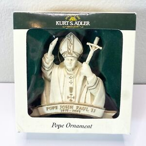NEW-Pope-John-Paul-II-Christmas-Ornament-Kurt-S-Alder-W3460