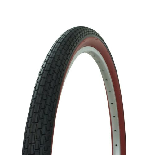 "Bicycle Tire 26/"" x 2.125/"" Small Brick Style Classic Beach Cruiser Bike Sidewall"