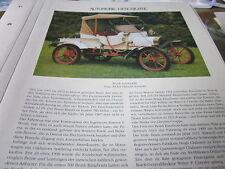 Internationales Automobil Archiv 1 1004a Geschichte Brush Automobile Detroit USA