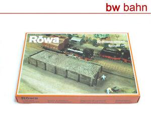 Roewa-H0-5215-Bausatz-Kohlebansen-Coal-box-Kit-Neu