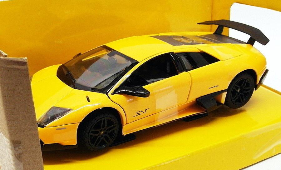 Rastar 1 24 Scale 39300 - Lamborghini Murcielago LP 670-4 SV - Yellow