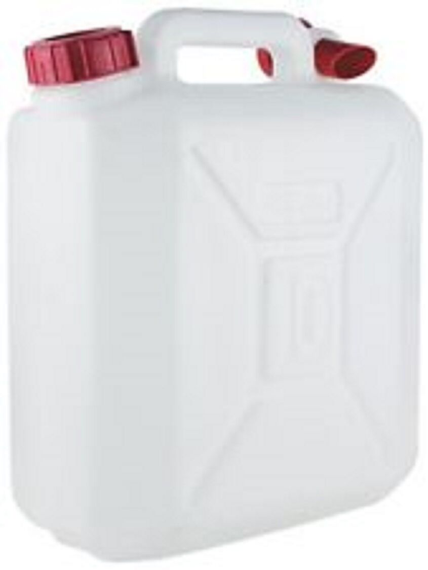 10 Litre Food Grade Plastic Water Container With Pouring Tap & Carry Handle