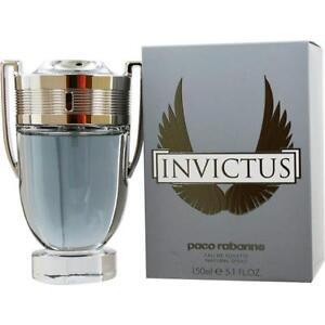 Paco Rabanne Invictus 5.1oz/150ml Eau De Toilette Spray Men Cologne Fragrance