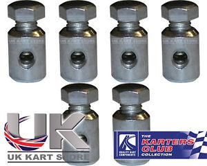 Cable-Pinzas-con-Altillo-Tornillo-M6-X-30mm-Pack-de-6-UK-Kart-Store