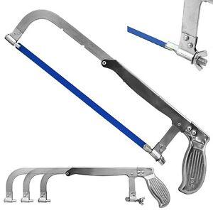 8 Quot 12 Quot Adjustable Cutting Hack Saw Blade Bi Metal Hacksaw