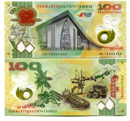 PAPUA NEW GUINEA 100 KINA 2018 P-NEW UNC COMMEMORATIVE