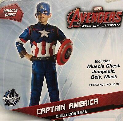Captain America Winter Soldier Adult Costume Marvel ComicsXL 44-46 Rubies 820048
