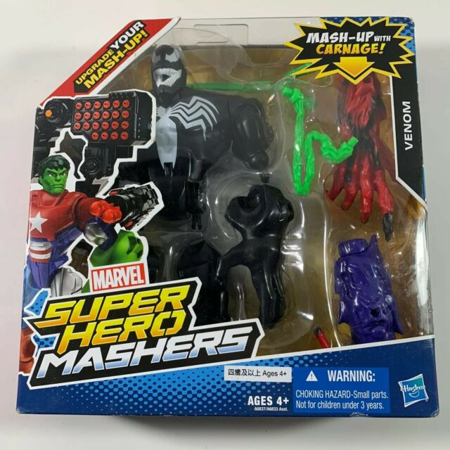 Super Hero Mashers VENOM CARNAGE Figurine HASBRO 2013 MARVEL A6837 sous blister