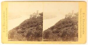 Stolzenfels-Germania-Foto-Stereo-PL55L3n-Vintage-Albumina-c1868