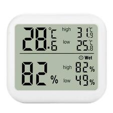 Digital Thermometer  ℃ /& ℉ Max Min Record for Home Greenhouse Humidity Monitor