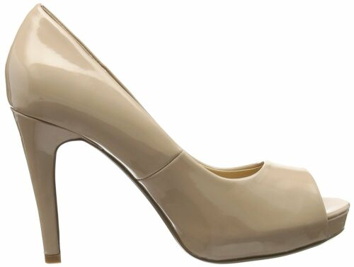 DOROTHY PERKINS SIZE 4 5 6 7 NUDE BLUSH CORINNA PATENT HIGH HEEL COURT SHOES NEW