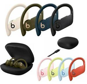 Beats by Dre Powerbeats Pro Wireless Bluetooth Headphones Black Ivory Navy Moss