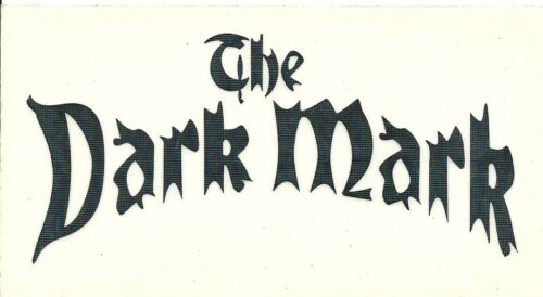 Harry Potter THE DARK MARK Black Auto Window Decal Sticker Vinyl Small